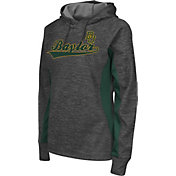 Colosseum Athletics Women's Baylor Bears Grey Performance Hoodie