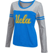 Colosseum Athletics Women's UCLA Bruins True Blue Leap Scoop Neck Long Sleeve Shirt