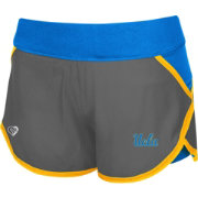 Colosseum Athletics Women's UCLA Bruins Grey Straddle Performance Shorts