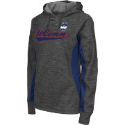 Colosseum Athletics Women's UConn Huskies Grey Performance Hoodie