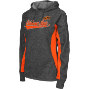 Colosseum Athletics Women's Oklahoma State Cowboys Grey Performance Hoodie