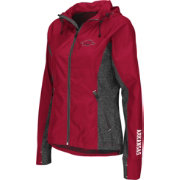 Colosseum Athletics Women's Arkansas Razorbacks Cardinal Corridor Performance Windbreaker Jacket