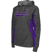 Colosseum Athletics Women's Washington Huskies Grey Performance Hoodie