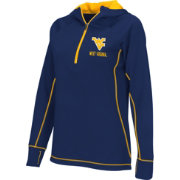 Colosseum Athletics Women's West Virginia Mountaineers Blue Perfect Quarter-Zip Hoodie