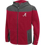 Colosseum Athletics Youth Alabama Crimson Tide Crimson Full-Zip Fleece Jacket