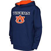 Colosseum Athletics Youth Auburn Tigers Blue Performance Hoodie