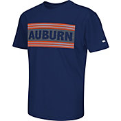 Colosseum Athletics Youth Auburn Tigers Blue Silver Bar T-Shirt