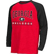 Colosseum Athletics Youth Georgia Bulldogs Red Krypton Long Sleeve Shirt