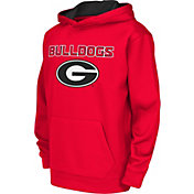 Colosseum Athletics Youth Georgia Bulldogs Red Performance Hoodie