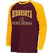Colosseum Athletics Youth Minnesota Golden Gophers Maroon Krypton Long Sleeve Shirt