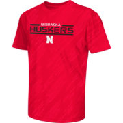 Colosseum Athletics Youth Nebraska Cornhuskers Scarlet Sleet Performance T-Shirt