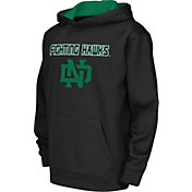 Colosseum Athletics Youth North Dakota Fighting Hawks Performance Black Hoodie
