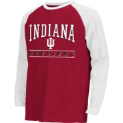 Colosseum Athletics Youth Indiana Hoosiers Crimson Krypton Long Sleeve Shirt