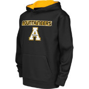 Colosseum Athletics Youth Appalachain State Mountaineers Black Poly Fleece Hoodie