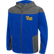 Colosseum Athletics Youth Pittsburgh Panthers Retro Blue/Grey Full-Zip Fleece Jacket
