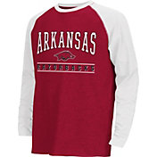Colosseum Athletics Youth Arkansas Razorbacks Cardinal Krypton Long Sleeve Shirt