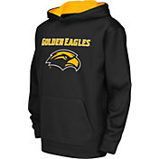 Colosseum Athletics Youth Southern Miss Golden Eagles Performance Black Hoodie