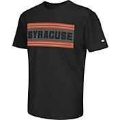 Colosseum Athletics Youth Syracuse Orange Silver Bar Black T-Shirt