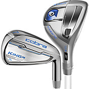 Cobra Women's KING F6 Hybrid/Irons – (Graphite) – Silver/Ultramarine