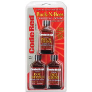 Code Blue Code Red Buck-N-Does Deer Attractant Combo