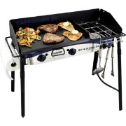 Camp Chef Expedition Triple Burner Stove with Griddle