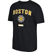 CCM Men's Boston Bruins Stitches Needed Black T-Shirt