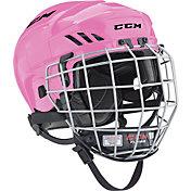 CCM Fitlite 40 Ice Hockey Helmet Combo