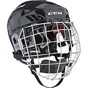 CCM Senior FitLite 60 Ice Hockey Helmet Combo