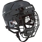 CCM Senior HT06 Ice Hockey Helmet Combo