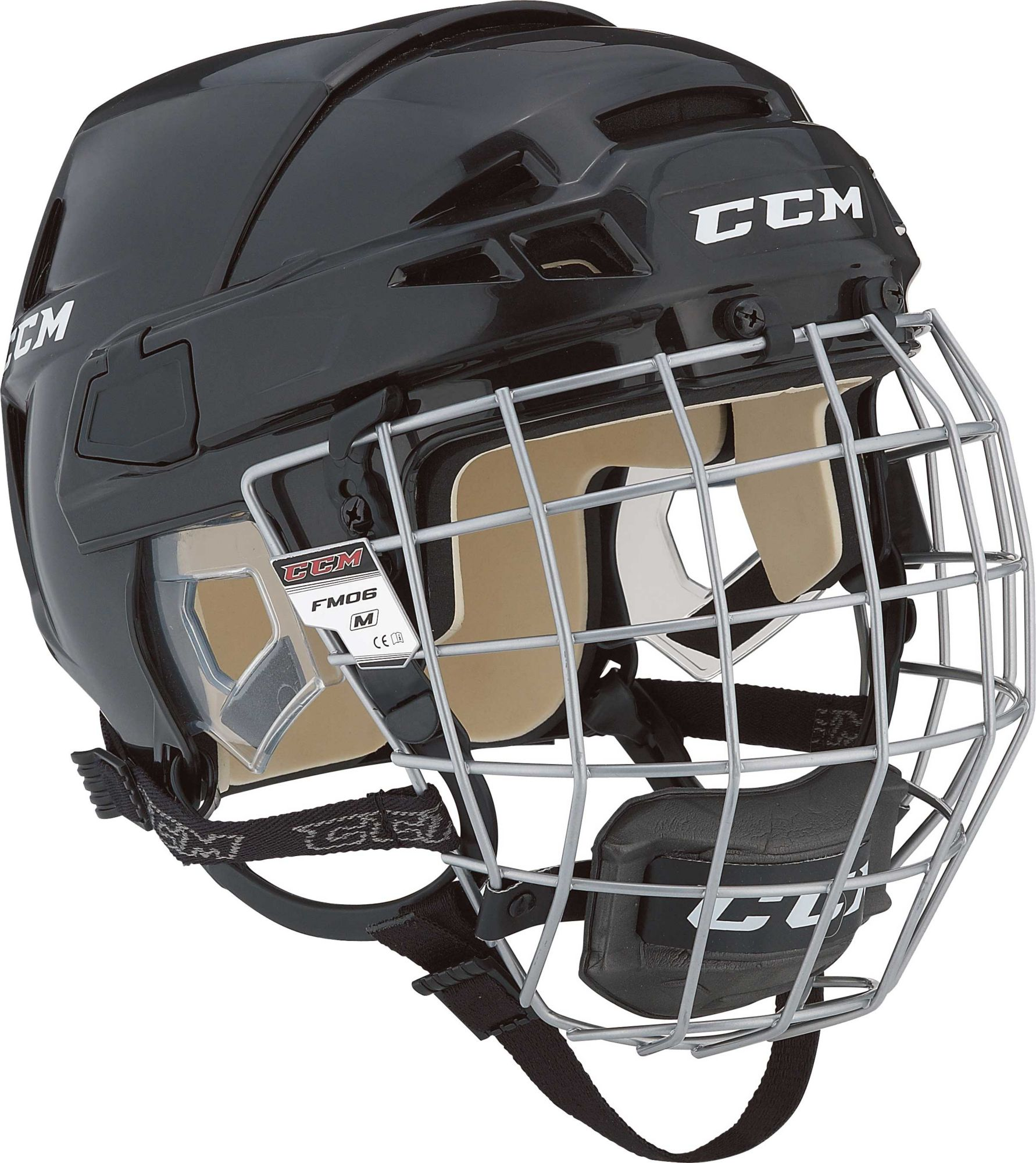 CCM Vector 08 Ice Hockey Helmet Combo | DICK'S Sporting Goods