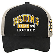 CCM Youth Boston Bruins Structured Adjustable Snapback Hat