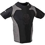 Century Adult Padded Short Sleeve Compression Shirt