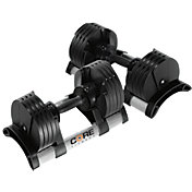 Core Fitness 5 - 50 lb Adjustable Dumbbells - Pair