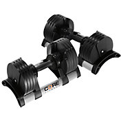 Core Fitness 5 - 50 lb Adjustable Dumbbells - Pair