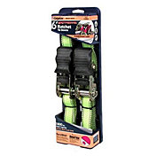CargoLoc 6' Extreme Ratchet Tie Downs