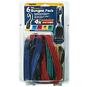 CargoLoc Flat Bungee Cords- 6 Pack
