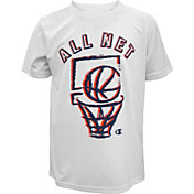 Champion Boys' All Net Graphic Basketball T-Shirt
