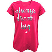 Champion Girls' Always Dream Big Graphic T-Shirt