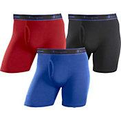 Champion Men's Cotton Performance Boxer Briefs 3 Pack