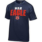 Champion Men's Auburn Tigers Blue Football Slogan T-Shirt