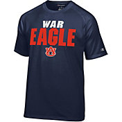 Champion Men's Auburn Tigers Blue Football Slogan T-Shirt