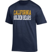 Champion Men's Cal Golden Bears Blue T-Shirt