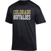Champion Men's Colorado Buffaloes Black Promo Jersey T-Shirt