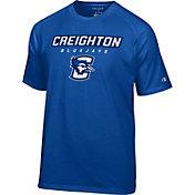 Champion Men's Creighton Blue Jays Grey T-Shirt