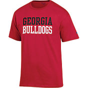 Champion Men's Georgia Bulldogs Red T-Shirt