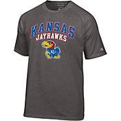 Champion Men's Kansas Jayhawks Blue T-Shirt