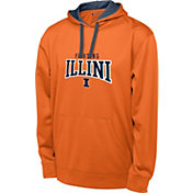 Champion Men's Illinois Fighting Illini Orange T-Formation Performance Hoodie