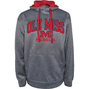 Champion Men's Ole Miss Rebels Grey Dominate 2 Hoodie