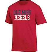 Champion Men's Ole Miss Rebels Red T-Shirt