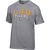 Champion Men's LSU Tigers Grey T-Shirt